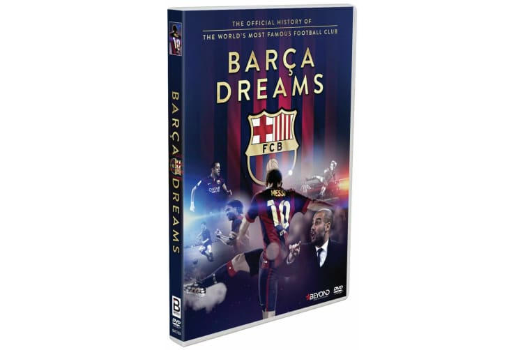 Barca Dreams  (2016) R4 FC Barcelona Lionel Messi - Rare- Aus Stock Preowned DVD: DISC LIKE NEW