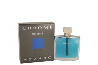 Azzaro Chrome Intense Eau De Toilette Spray 100ml/3.4oz