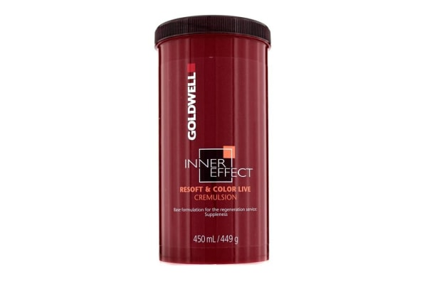 Goldwell Inner Effect Resoft & Color Live Cremulsion (450ml/15oz)