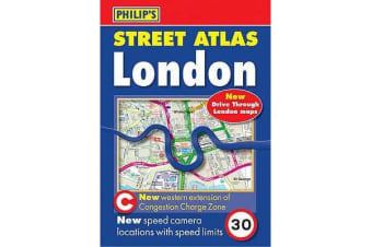 Philip's Street Atlas London - Pocket Spiral