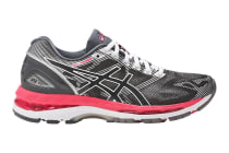 ASICS Women's Gel-Nimbus 19 Running Shoe (Carbon/Rouge Red/White)