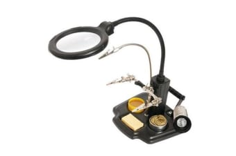 ProsKit SN-396 Soldering Helping Hand with LED Magnifier 2 Years Warranty