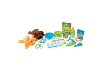 Melissa and Doug Feeding & Grooming Pet Care Play Set