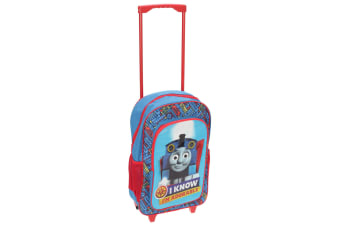 Thomas And Friends Childrens/Kids Travel Trolley Backpack (Blue / Red) (One Size)