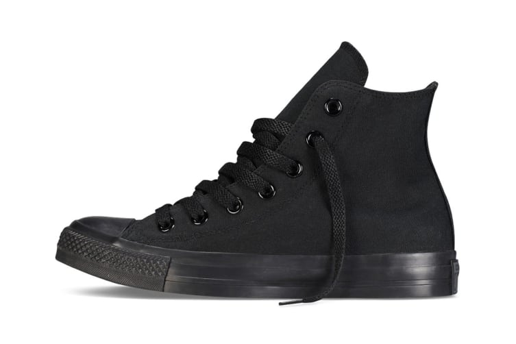 Converse Chuck Taylor All Star Hi (Black Mono, US Mens 7.5 / US Womens 9.5)