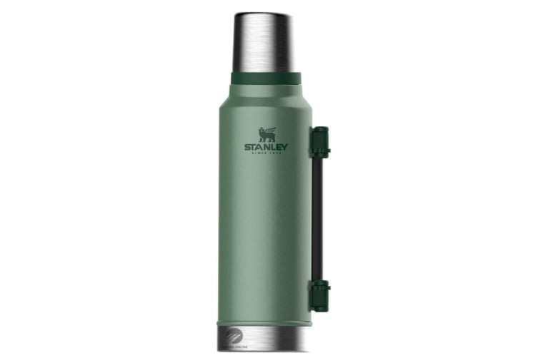STANLEY CLASSIC 1.4L INSULATED VACUUM THERMOS FLASK BOTTLE - GREEN