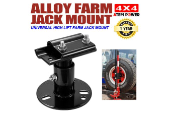ATEM POWER Spare Wheel Mount Bracket Carrier for Hi Lift High Farm Jack Recovery 4x4 4WD