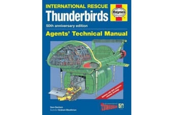 Thunderbirds Manual 50th Anniversary Edition - TB1-TB5, Tracy Island and associated vehicles
