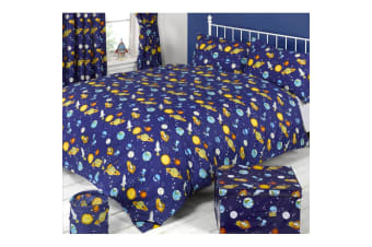 Mucky Fingers Childrens Spaceman Duvet Cover Bedding Set (Spaceman)