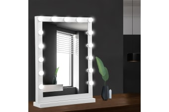 Hollywood Makeup Mirror With Light LED Bulbs Vanity Lighted Stand