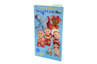 In The Night Garden Special Little Boy Birthday Card (Multicoloured) (One Size)