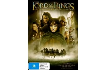 The Lord Of The Rings - The Fellowship Of The Ring - Region 4 Preowned DVD: DISC LIKE NEW