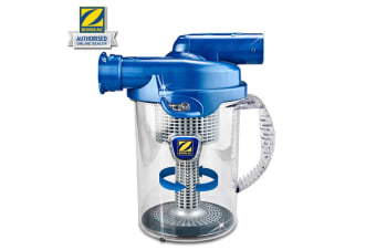 Blue Cyclonic Inline Canister Leaf Catcher Vacuum Pool Cleaner