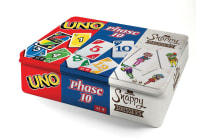 3-in-1 Card Bundle Tin (Uno, Phase 10, Snappy Dresser)