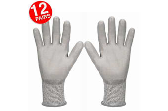 12PK Jackson Size 7/S Safety Work Gear G60 Level 3 Cut Resistant Gloves Hands