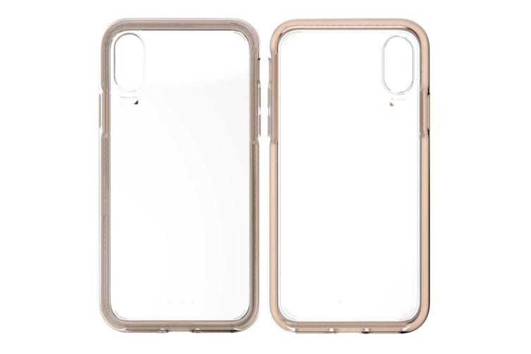 EFM Aspen D3O Case Armour Protect Mobile Cover for Apple iPhone XS Max Clear/GD