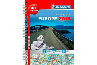 Europe 2018 - Tourist and Motoring Atlas (A4-Spiral) 2018
