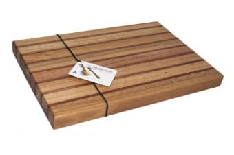 The Big Chop Pieman River Rectangular Board Tasmanian Oak and Blackwood 50cm