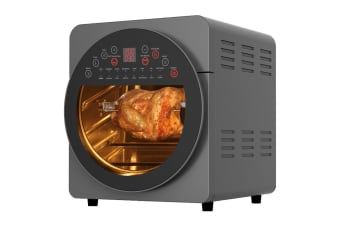 Healthy Choice 1700W 15L Electric Convection Oven/Air Fryer w/Rotisserie/Basket