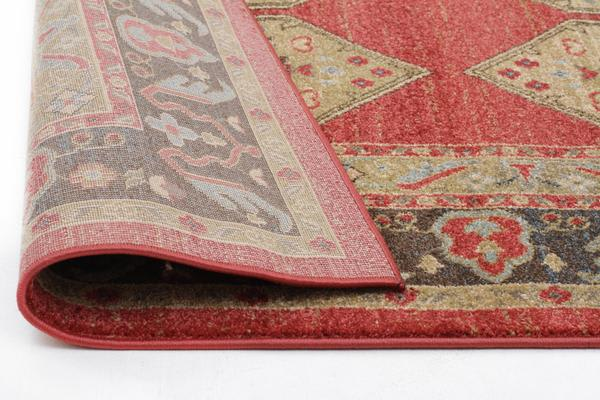 Shiraz Design Rug Red 330x240cm