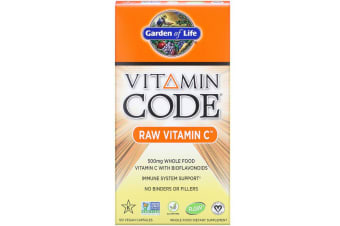 Garden of Life, Vitamin Code, RAW Vitamin C, 500 mg, 120 Vegan Capsules
