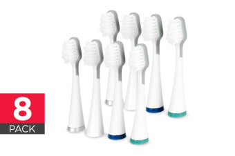 8 Pack Replacement Toothbrush Heads for Kogan Soniclean Pro Toothbrush
