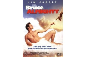 Bruce Almighty -Comedy Rare- Aus Stock DVD Preowned: Excellent Condition