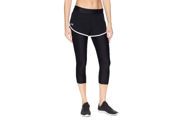 Under Armour Women's Armour Fly Fast Shapri (Black/Reflective, Size Large)