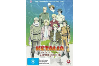 Hetalia Paint It White - DVD Region 4 Free Shipping! - Rare- Aus Stock DVD NEW