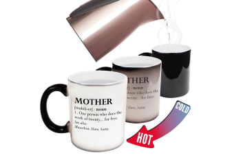 123T Funny Colour Changing Mugs - Mother Noun Family