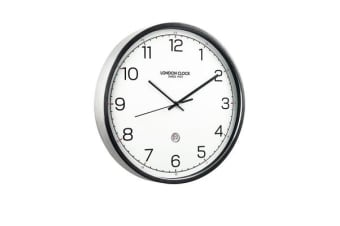 London Clock Company Turbo Wall Clock with Date