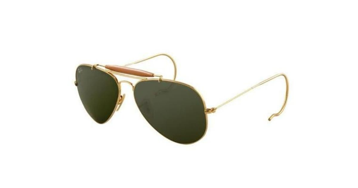 5d6f6c512b Ray Ban RB3030 - Gold (Grey Green lens) Mens Sunglasses - Kogan.com