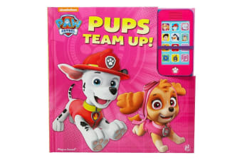 Paw Patrol Pups Team Up! Play-A-Sound Book with Mobile Phone