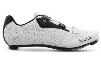 Fizik R5B Uomo SPD-SL Road Carbon Shoes White Black 40.5