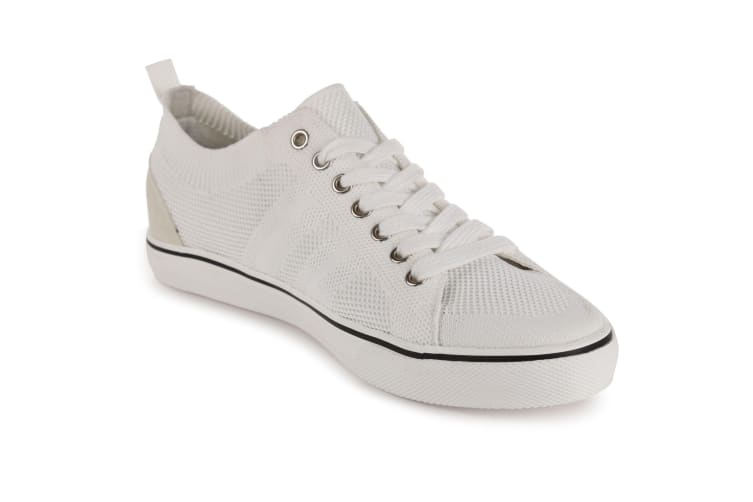 Regatta Great Outdoors Mens Knitted Trainers (White) (12 UK)