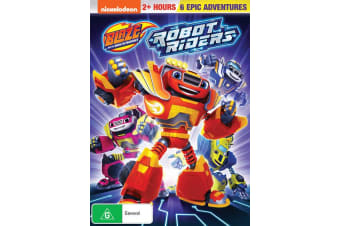 Blaze and the Monster Machines Robot Riders DVD Region 4