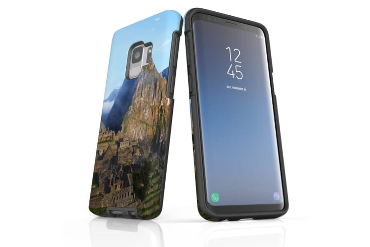 For Samsung Galaxy S9 Case Armour Cover  Machu Picchu