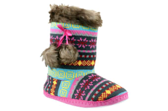 Divas Kiev Slipper / Womens Slippers (Multi) (Large)