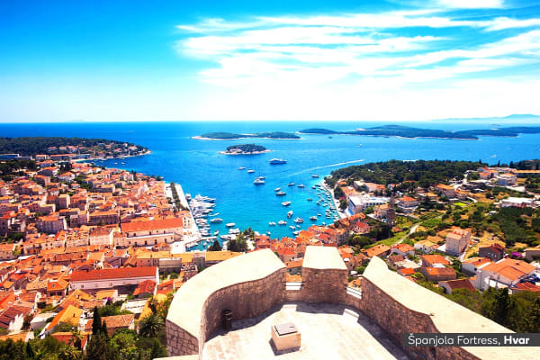 CROATIA: 8 Day Deluxe Croatia Sail Cruise for Two (Double Bed Cabin)