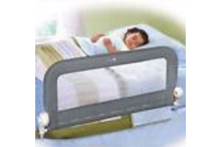 Summer Infant Double Safety Bed Rail Guard - Grey