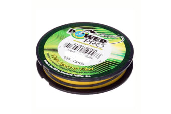Shimano 15lb Power Pro Yellow Braided Line 150yd Spool