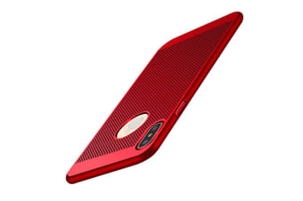 Case For Iphone Xs/Xr / Xs Max Hard Cover Full Protection Heat Dissipation Red Iphone 7/8Plus