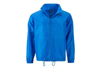 James and Nicholson Mens Promo Jacket (Bright Blue) (S)
