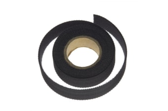 Black Hook & Loop Cable Tie 15mm Wide