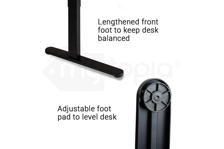 Avante Height Adjustable Standing Desk Sit Stand Up Motorised Electric Office Table