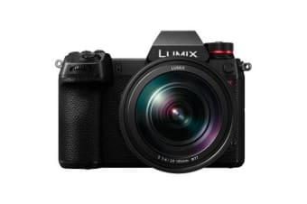 New Panasonic LUMIX DC-S1R With 24-105mm F.4 Digital SLR Camera (FREE DELIVERY + 1 YEAR AU WARRANTY)