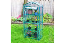Garden Greenhouse 4-Tier Storage 70 x 49 x 158cm