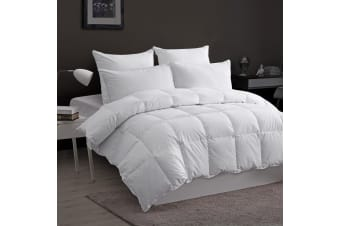 Dreamaker 100% Goose Down Fibre Quilt Queen Bed