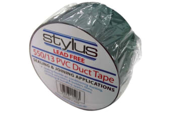 Silver PVC 550/13 Duct Tape Stylus Lead free Sealing Joining Applications