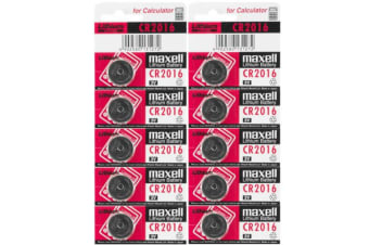 10PK 3V Lithium Battery Button Cell